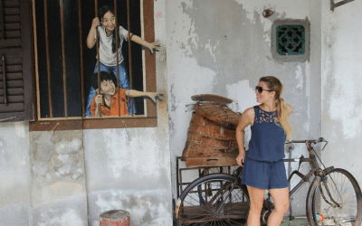 George Town, la ciudad multicultural de Penang (Malasia)