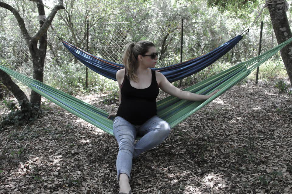 Dormir en una yurta a los 8 meses de embarazo | Experiencia viajera